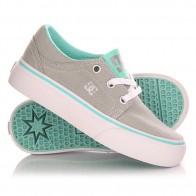 Кеды кроссовки низкие детские DC Trase Tx G Shoe Grey/Blue