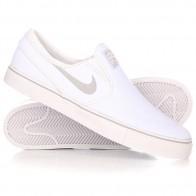 Слипоны Nike SB Zoom Stefan Janoski Slip Cnvs White/Wolf Grey-White