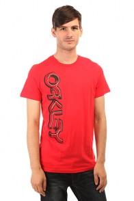 Футболка Oakley Subterranean Tee Red Line