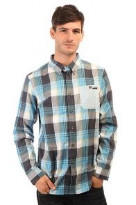 Рубашка в клетку Oakley Loose Jaw Woven Ethereal Blue