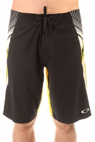 Шорты пляжные Oakley Flash Boardshort Black/Yellow