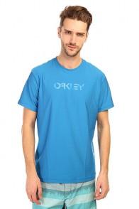 Гидрофутболка Oakley O Pique Rashguard Electric Blue