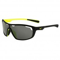 Очки Nike Road Machine Black/Volt Grey Lens