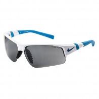 Очки Nike Show X2 Shiny White/Neo Turq Grey / Silver Flash/Clear Lens