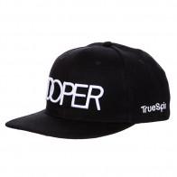 Бейсболка с прямым козырьком TrueSpin Doper Snapback Black