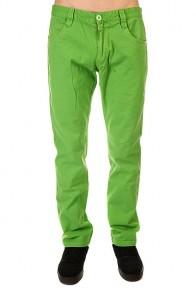 Штаны прямые Urban Classics 5 Pocket Pants Limegreen