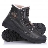 Ботинки зимние Palladium Pampa Hi Leather S Anthracite/Pilot