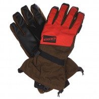 Перчатки сноубордические Burton Mb Approach Glv Eu Campfire/Woody
