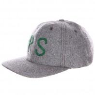Бейсболка Poler Ps Wool Grey