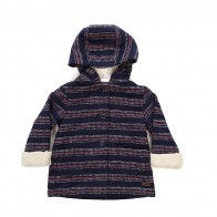 Пальто детское Roxy Fool Wool Stripe Combo