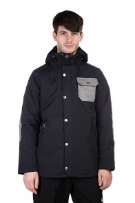 Куртка Burton Twc Primetime Jk True Black/Bog Heather