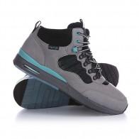 Кеды кроссовки высокие Huf Hr Gray/Aqua