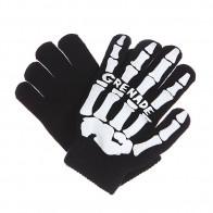 Перчатки Grenade Skull Black/White