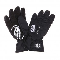 Перчатки сноубордические детские Grenade Fragment Gloves Black