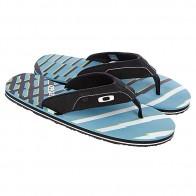 Шлепанцы Oakley O-strap Black/Blue