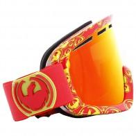 Маска для сноуборда Dragon Snow D1 Tango Icon Red Ionized Amber