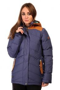 Куртка женская DC Liberty Jkt Patriot Blue, 1131788,  DC Shoes, цвет коричневый, синий