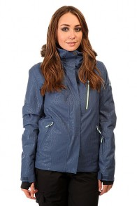 Куртка женская Roxy Jet Ski Prem Jk Ensign Blue BIOTHERM