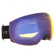 Маска для сноуборда Electric Eg3.5 Gloss Black+Yellow/Blue Chrome