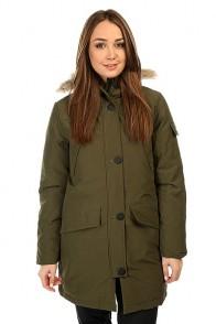 Куртка парка женская Penfield Hoosac Ff Hooded Down Mountain Parka Lichen