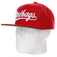 Бейсболка Huf Script Dirtbag Starter Red