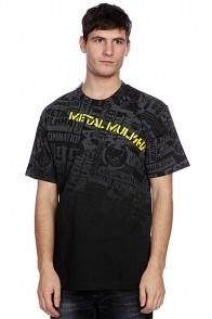 Футболка Metal Mulisha Dread Black/Yellow