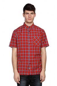 Рубашка в клетку Element Sutton Ss Jester Red