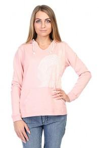 Толстовка женская Roxy Newrelaxmix A J Bloom Pink