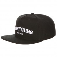 Бейсболка с прямым козырьком TrueSpin Everything Black