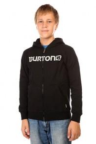 Толстовка классическая детская Burton Logo Horz Fz True Black