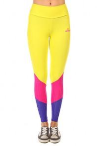 Леггинсы женские CajuBrasil New Zealand Legging Yellow/Blue/Pink