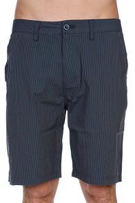 Классические мужские шорты Quiksilver Thunderland Chino Work Blue