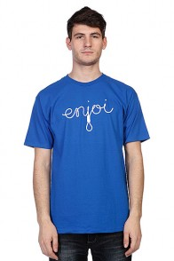 Футболка Enjoi Script Royal Blue