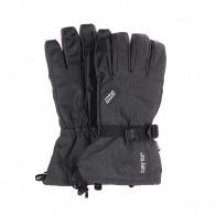 Перчатки сноубордические Pow Warner Long Glove Black