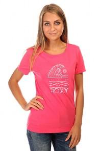 Футболка женская Roxy Itty Doty Wave J Tees Peony
