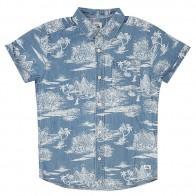 Рубашка детская Quiksilver Pyrapointssy Blue