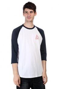 Лонгслив Huf Triple Triangle Raglan White