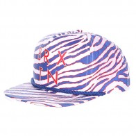 Бейсболка женская Brixton Henshaw Snap Back White/Royal