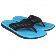 Шлепанцы Quiksilver Ag47 Flux Black/Blue