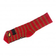 Носки средние Toy Machine Monster Stripe Red/Brown