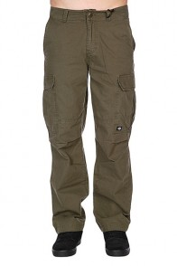 Штаны широкие Dickies New York Dark Olive