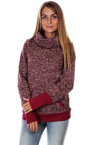 Кенгуру женское Roxy Surfcity Deep Red Heather