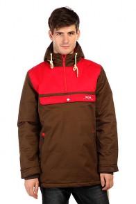 Анорак TrueSpin Cloud Jacket Coffee/Red