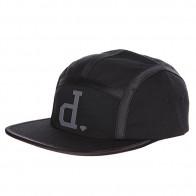 Бейсболка пятипанелька Diamond Un Polo Tech Camper Black