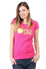 Футболка женская Picture Organic Basement Pinky
