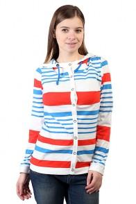 Женская толстовка Picture Organic Seal Cardigan Ml Stripe White