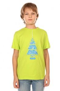 Футболка детская Picture Organic Pine Green Lime