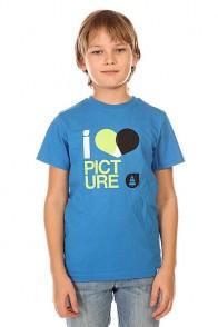 Футболка детская Picture Organic Love Basic Tee Blue