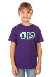 Футболка детская Picture Organic Basement Tee Purple