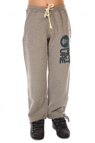 Штаны широкие детские Picture Organic Rampe Pants Grey Melange